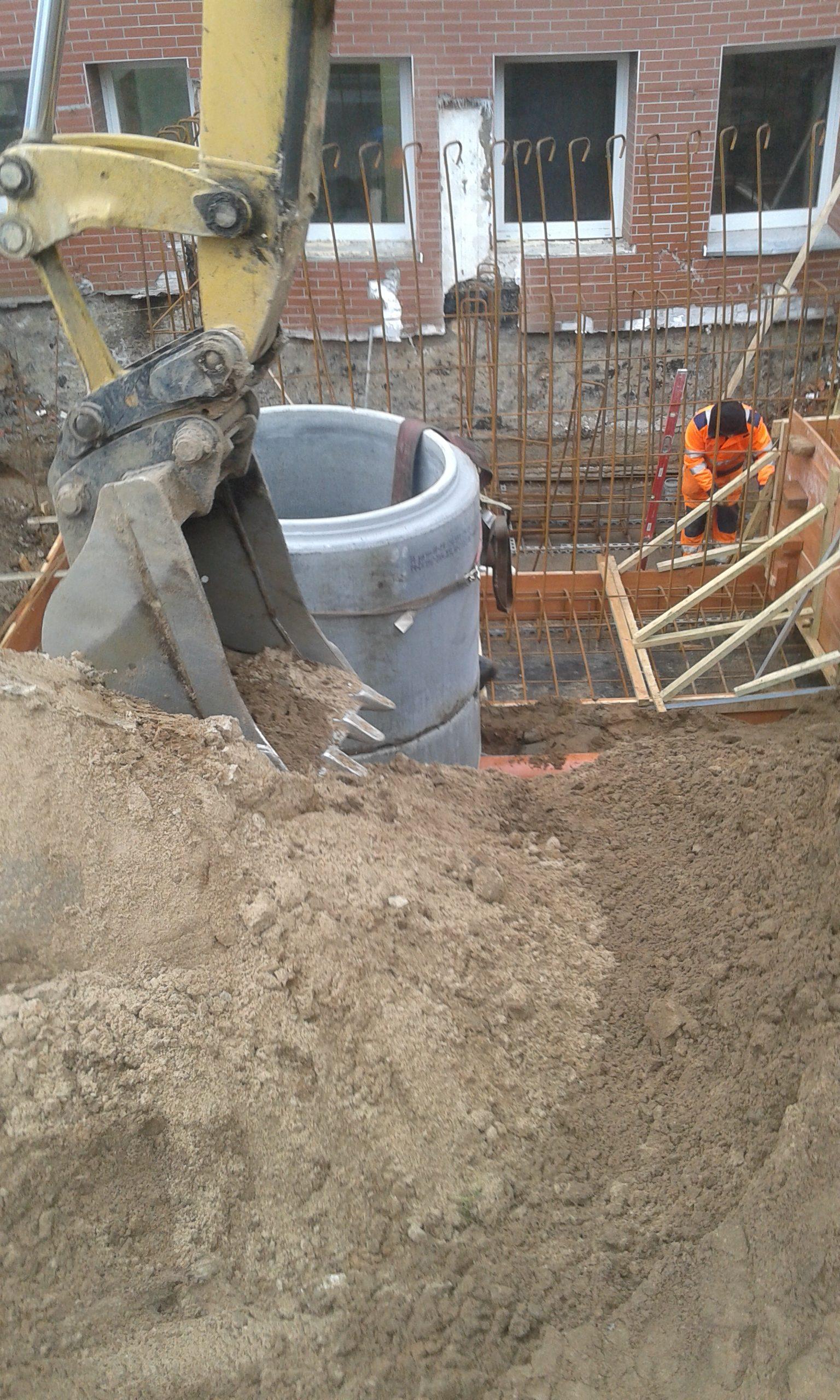 zakopywanie studni